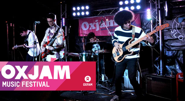 Oxjam Live Music - 18th Oct