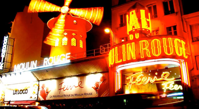 Friday 12th - Sat 13th Dec - NOT the Moulin Rouge